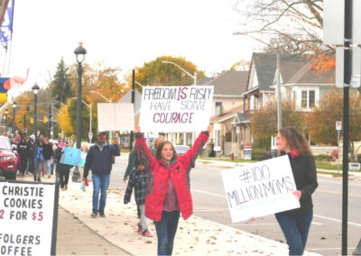 First Freedom March Aylmer Ontario Freedom is Risky Have Some Courage Kimberly Neudorf 7