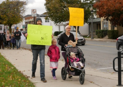 First Freedom March Aylmer Ontario Socialism Distancing Public Health is not one dimensionalKimberly Neudorf 8